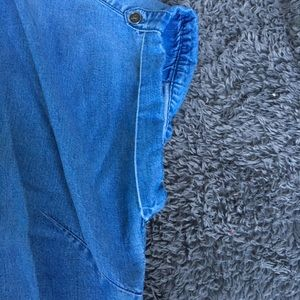 Lucky Brand Tops - Lucky Brand | Denim Button Up Top Size Large